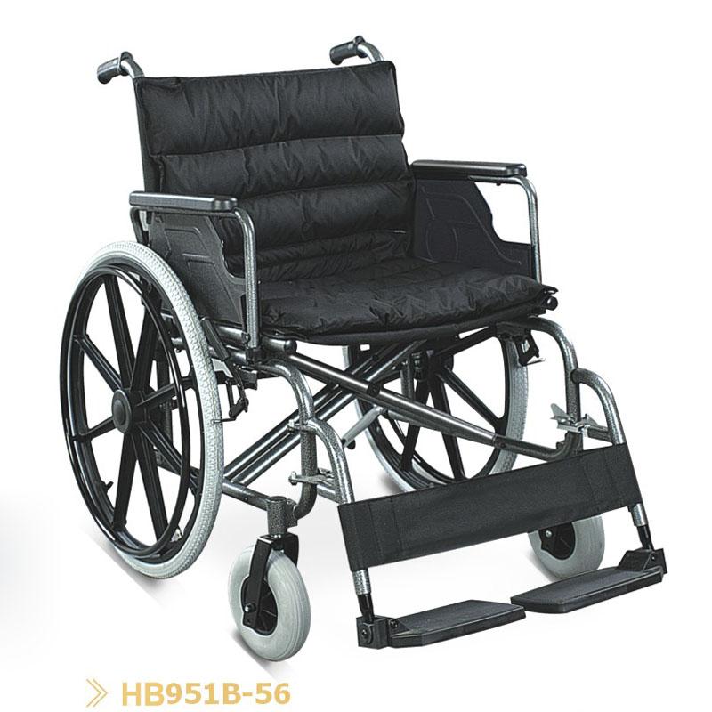 Кресло-коляска повышенной грузоподъемности FS 951B - 56