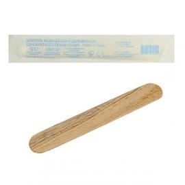 Шпатель деревянный стерильный 140*18 мм.