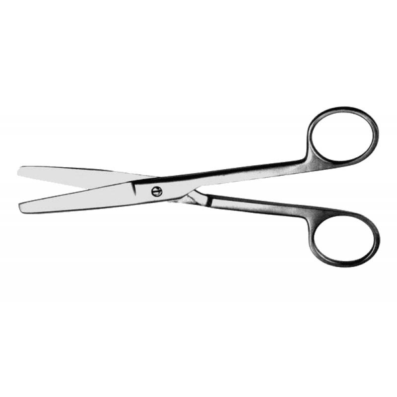 Ножницы тупоконечные, прямые 140 мм